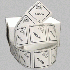 Poison Class 6.2 Mini Flag Marking for Bill of Lading and Shipping Documents