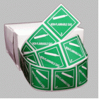 Non-Flammable Gas Class 2.2 Mini Flag Marking for Bill of Lading and Shipping Documents