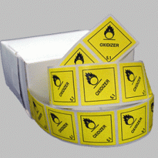 Oxidizer Class 5.1 Mini Flag Marking for Bill of Lading and Shipping Documents