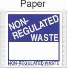 Non Regulated Material Tyvek Labels HWL266T