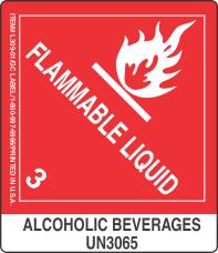 Alcoholic Beverages UN3065