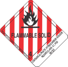 Contains Aliphatic Hydrocarbon Solvent Hazard Class 4.1, PGII UN1325