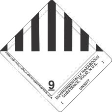 Environmentally Hazardous Substance, Liquid, N.O.S. ( ) UN3077