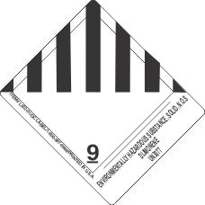 Environmentally Hazardous Substance, Solid, N.O.S Dlimonene UN3077