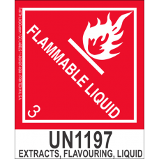 Extracts, Flavouring, Liquid UN1197