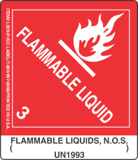 Flammable Liquids, N.O.S. ( ) UN1993