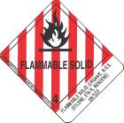 Flammable Solid, Organic, N.O.S. (Xylene, Ethyl Benzene) UN1325