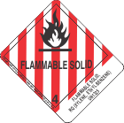 Flammable Solid, Rq (Xylene, Ethyl Benzene) UN1325