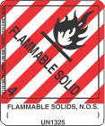 Flammable Solids, N.O.S. ( ) UN1325