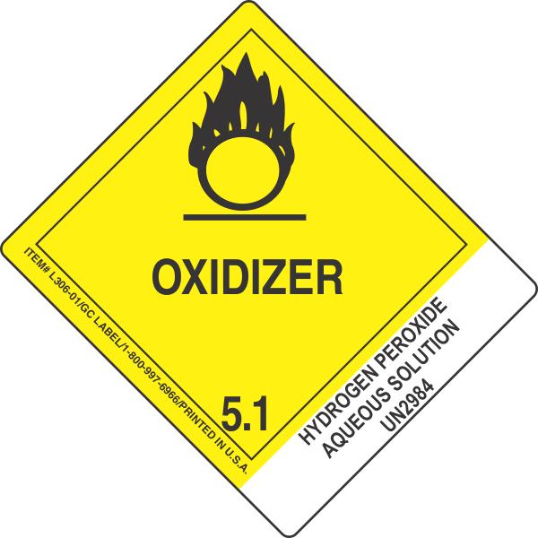 Hydrogen Peroxide Aqueous Solution Un2984