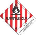 UN1325 Flammable Solids, Organic, N.O.S. (Isopropanol), 4.1, PGII