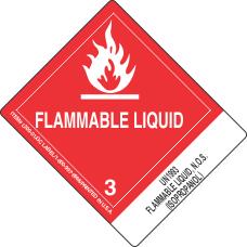 UN1993 Flammable Liquid, N.O.S. (Isopropanol)