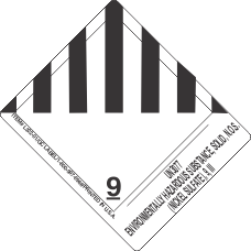 UN3077 Environmentally Hazardous Substance, Solid, N.O.S. (Nickel Sulfate), 9, III