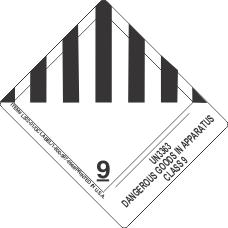 Un3363 Dangerous Goods In Apparatus Class 9