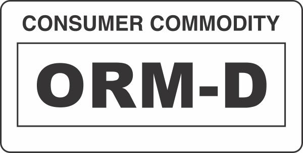 Orm D Consumer Commodity White Label