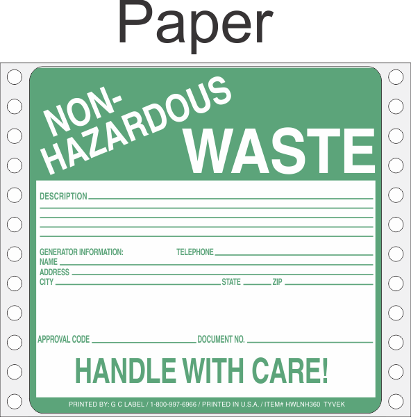 hazardous waste research paper Read this essay on hazardous waste the research paper a waste is classified as a hazardous waste if it has a hazardous characteristic listed below.