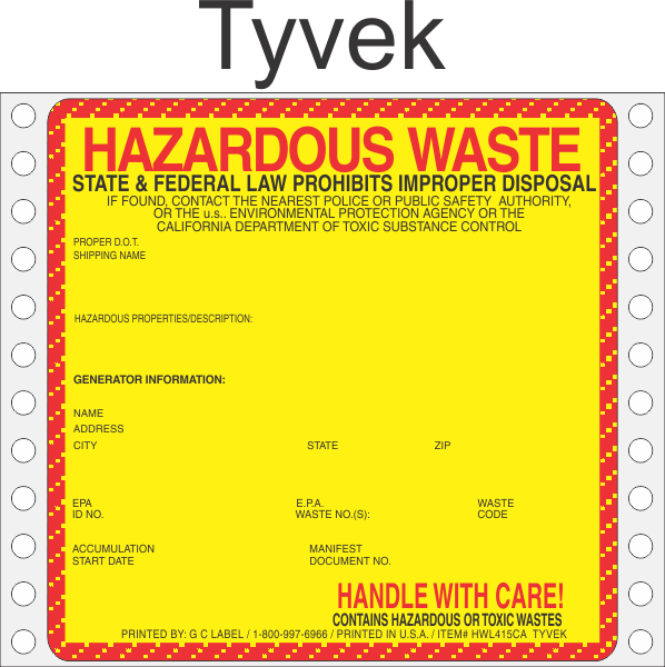 california hazardous waste control law hwcl
