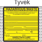 Hazardous Waste South Carolina Tyvek Labels HWL225SCT