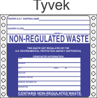 Non-Regulated Waste Tyvek Labels HWL270T