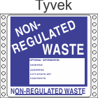 Non-Regulated Waste Tyvek Labels HWL280T