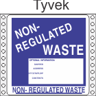 Non-Regulated Waste Tyvek Labels HWL285T