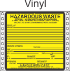 Hazardous Waste Ohio Vinyl Labels HWL485OHV