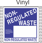 Non-Regulated Waste Vinyl Labels HWL260V