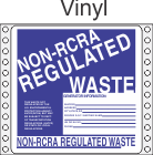 Non-Regulated Waste Vinyl Labels HWL265V