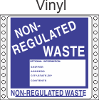 Non-Regulated Waste Vinyl Labels HWL280V