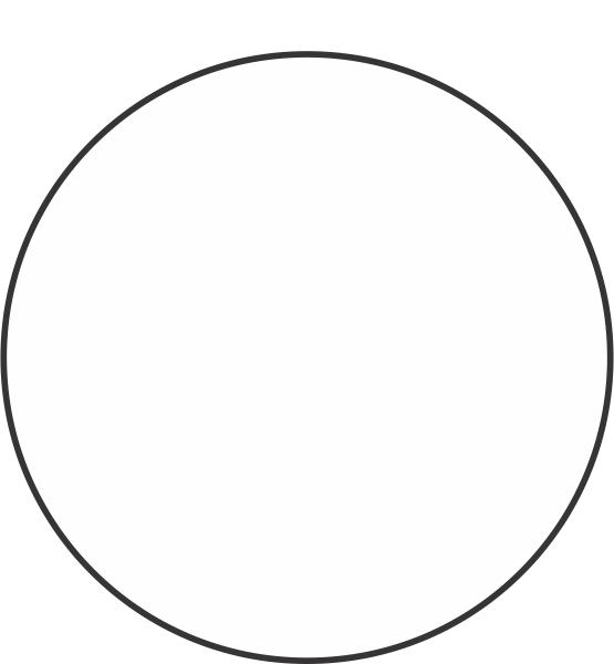 Blank White Circle Labels