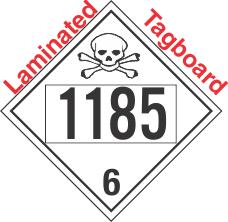 Poison Toxic Class 6.1 UN1185 Tagboard DOT Placard