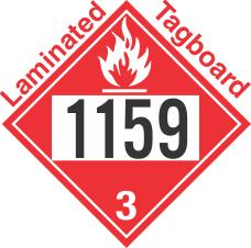 Flammable Class 3 UN1159 Tagboard DOT Placard