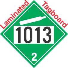 Non-Flammable Gas Class 2.2 UN1013 Tagboard DOT Placard