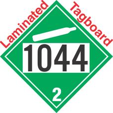 Non-Flammable Gas Class 2.2 UN1044 Tagboard DOT Placard
