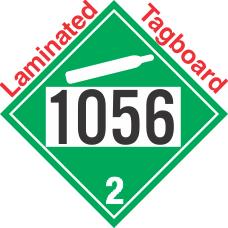 Non-Flammable Gas Class 2.2 UN1056 Tagboard DOT Placard