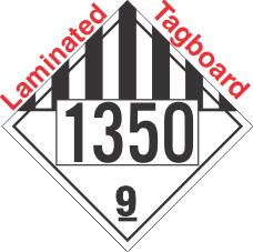 Miscellaneous Dangerous Goods Class 9 UN1350 Tagboard DOT Placard